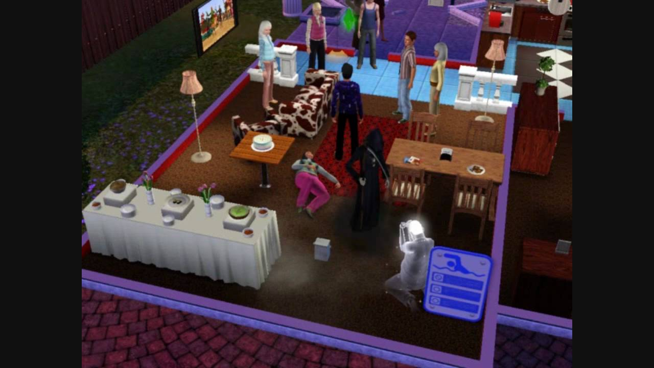 How To Make Birthday Cake Sims