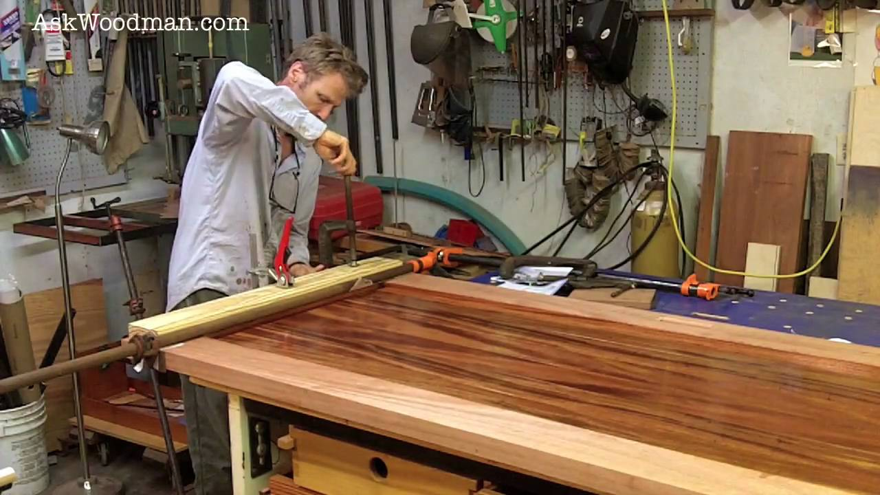19 How To Clamp Mortise and Tenon Joints - SOLID WOOD DOOR SERIES ...
