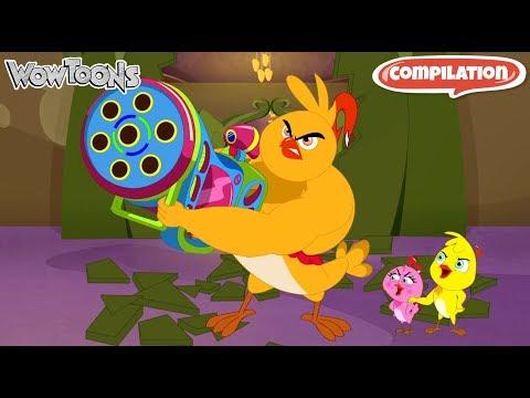 Eena Meena Deeka | Comedy Compilation 14 | Funny Cartoon for Kids | Comedy Show for Kids | Wow Toons