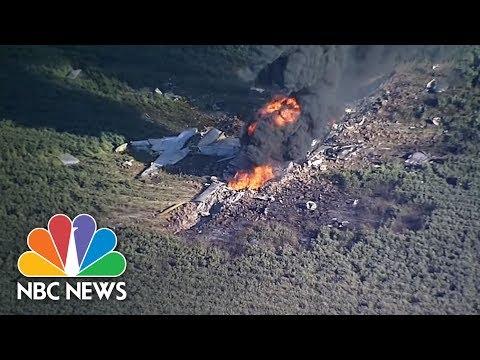 Military C-130 Crashes In Mississippi | NBC News