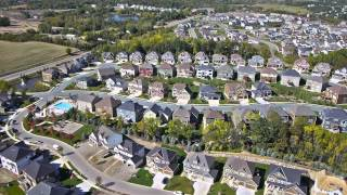 Aerial - Hanson Builders Plymouth Neighborhood Flyover