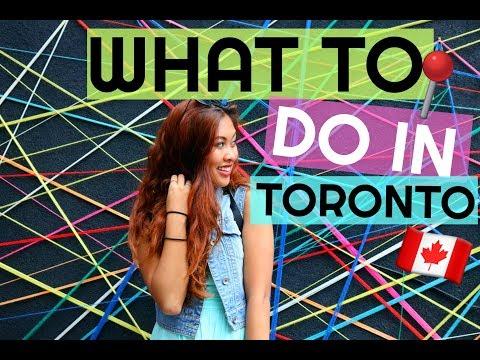 WHAT TO DO IN TORONTO | VLOG 28 | jvbabyy