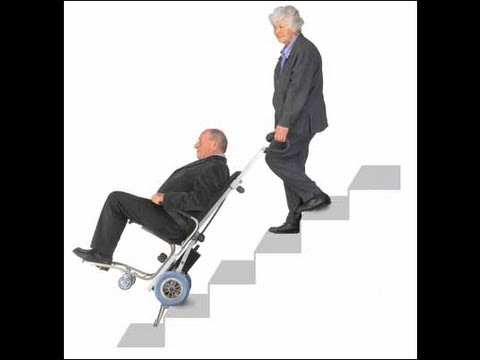 Trepadora universal equipo salvaescalera para for Sillas para discapacitados