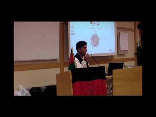 Afghan Cultural Committee in Sweden - M.Tariq Bazger Part 3