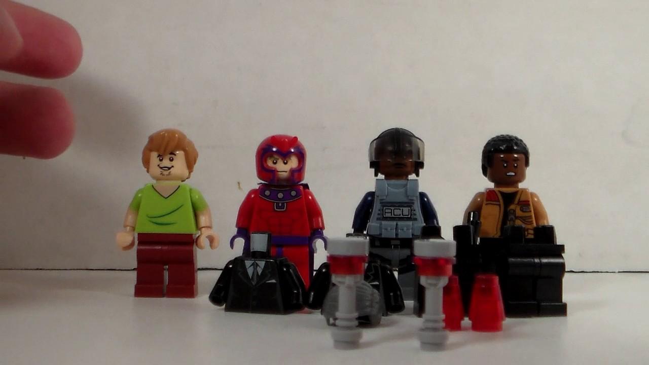 Custom Lego Mib Mini Figures
