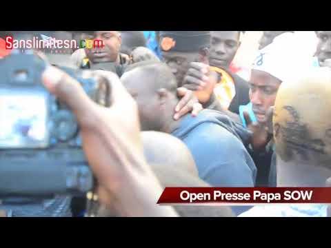 Revivez l'Open Presse de Papa Sow, avec Modou Lo