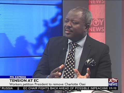 Tension at EC - PM Express on JoyNews (20-7-17)