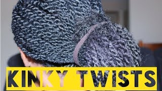 How To | Kinky Twists On Natural Hair with Marley Braid