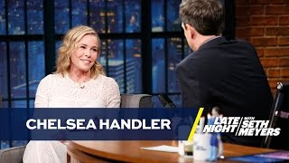 Chelsea Handler Thinks Sean Spicer Has Diarrhea Every Day