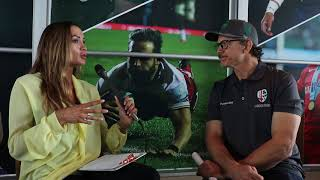 The Rugby Network talks to Les Kiss