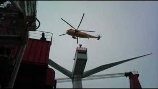 Medivac from offshore wind turbine.mp4