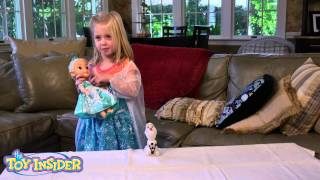 Disney Frozen Snow Glow Elsa Review from the Toy Insider Kids