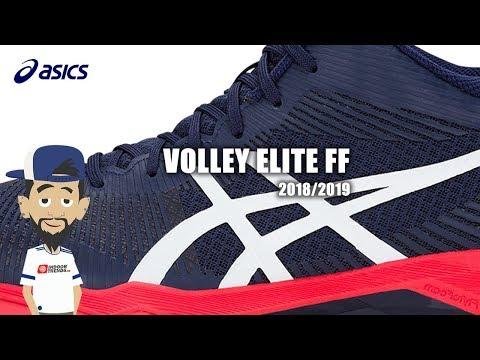 asics volley elite ff zwart