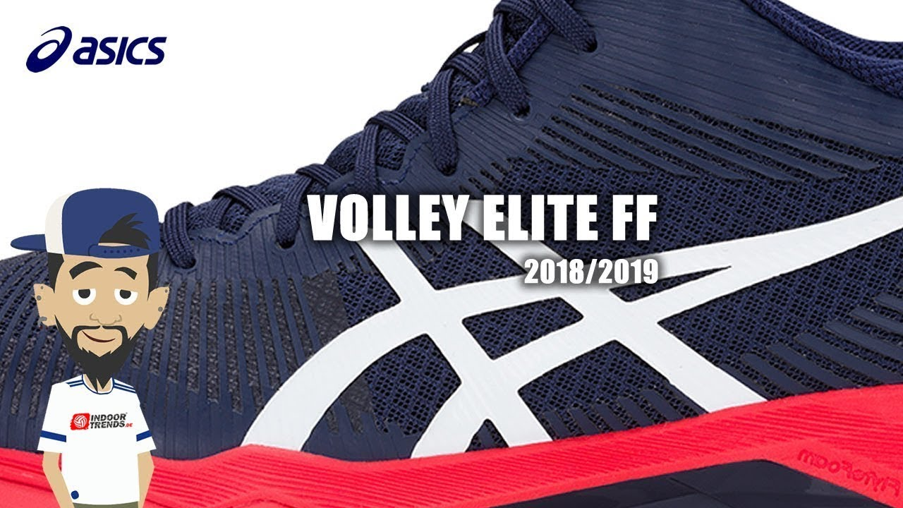 Asics Volley Elite FF - Asics Volleyballschuhe 2018/2019