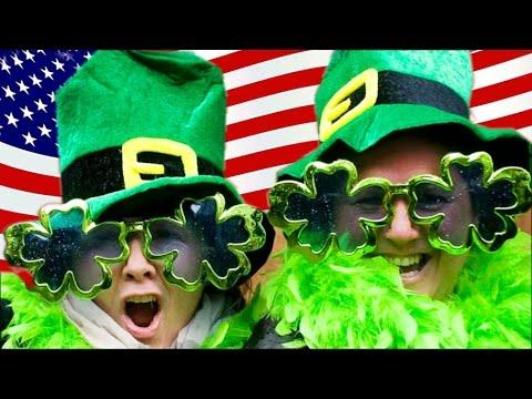 Я ИРЛАНДЕЦ СЕГОДНЯ. 🍀 На День Святого Патрика в США все Ирландцы! ,🍀Valentina OK жизнь в США