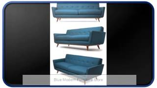 Blue Modern Furniture Store