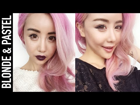 Bleaching Asian or Dark Hair to Blonde or Pastels | Everything You Need to Know | Wengie
