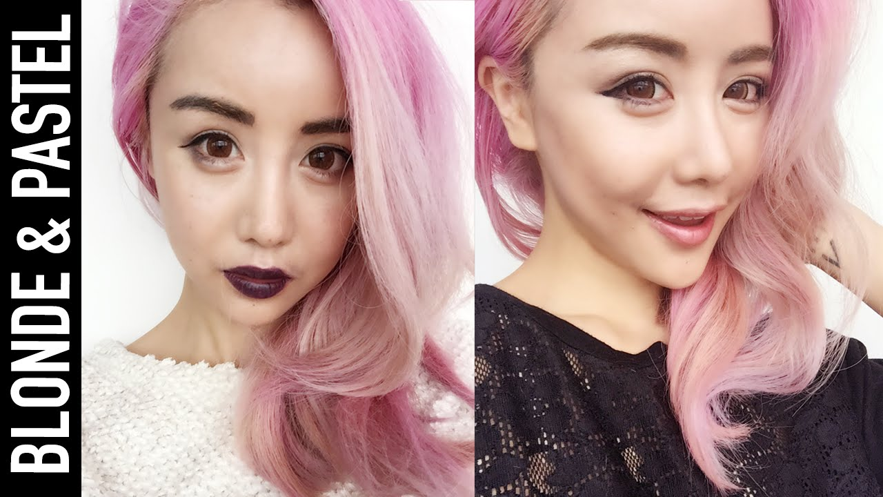 Bleaching Asian Or Dark Hair To Blonde Or Pastels