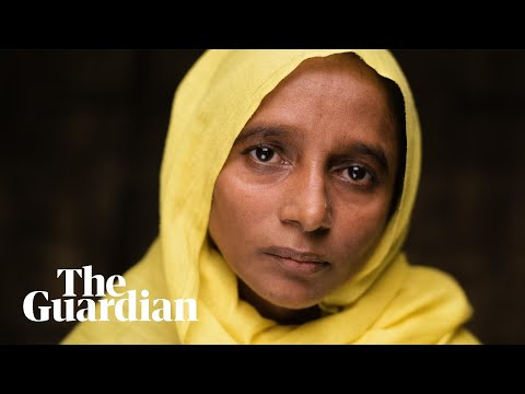 Rohingya refugees on Myanmar's brutal crackdown: