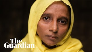 Rohingya refugees on Myanmar's brutal crackdown: 'They slaughtered our people'