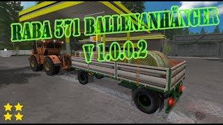 """[""""RABA 571"""", """"RABA 571 Ballenanhänger"""", """"Mod Vorstellung Farming Simulator Ls17:RABA 571"""", """"Mod Vorstellung Farming Simulator Ls17:RABA 571 Ballenanhänger""""]"""