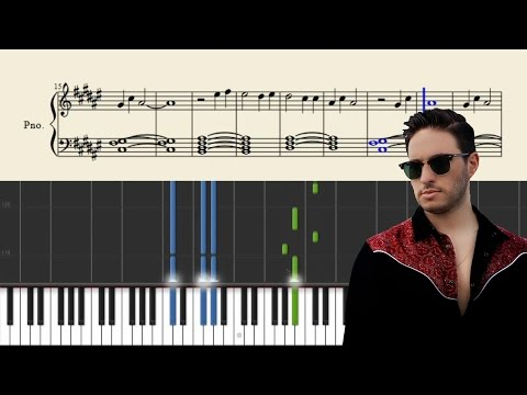 Jonas Blue - By Your Side - Piano Tutorial + SHEETS