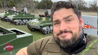 The Texas Bucket List - Mini Tank Combat Battlefield Zone in Hico screenshot 4