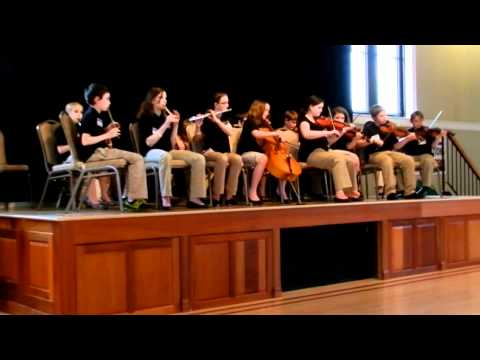 Academy of Irish Music - Midwest Fleadh Grupa Cheoil 2012 - 12-15 age group