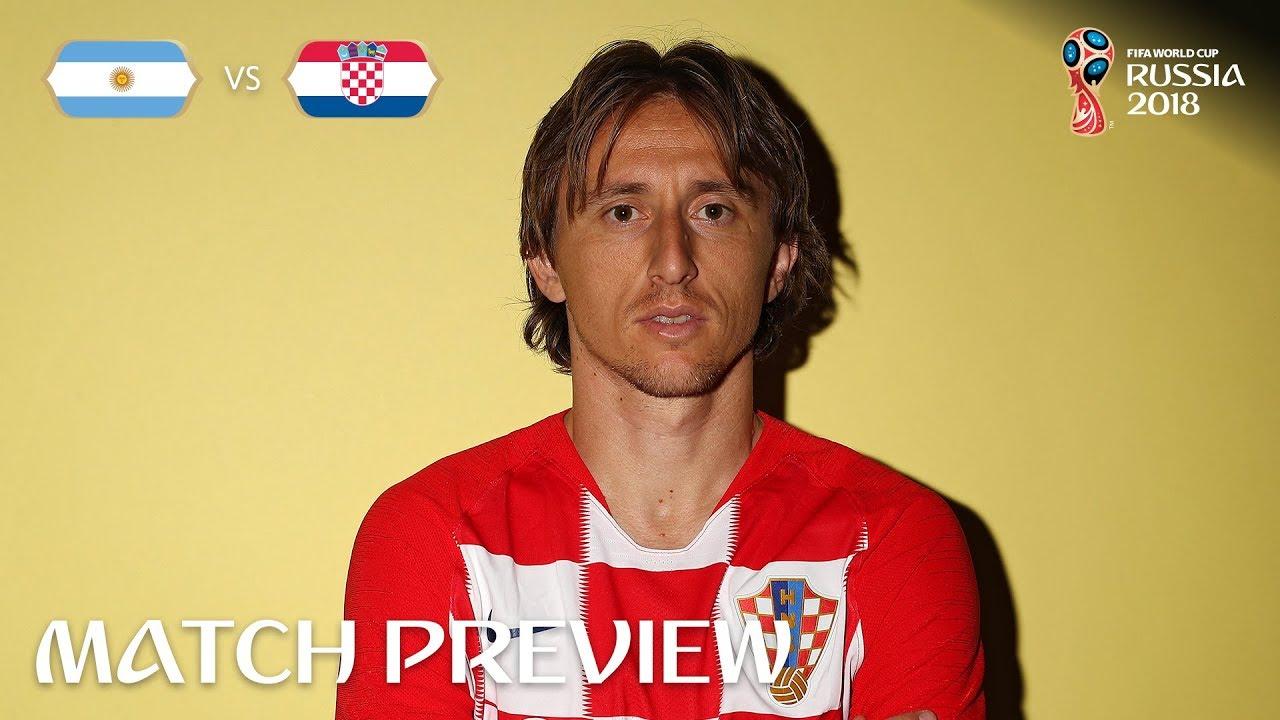 purchase cheap ca794 230ac Luka Modric (Croatia) - Match 23 Preview - 2018 FIFA World Cup™