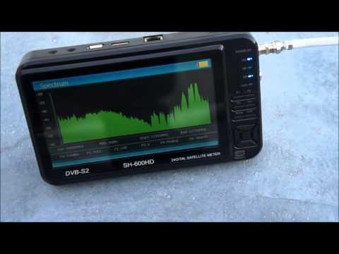 SATHERO SH-600HD DVB S2 SATELLITE FINDER
