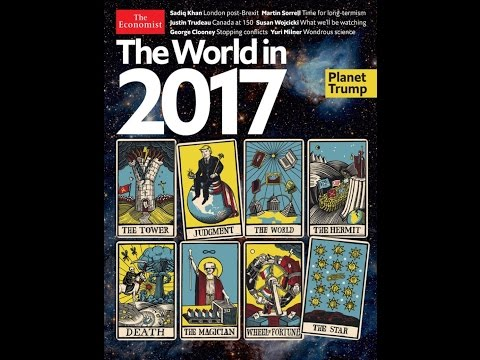 DECIPHERED!!! THE ECONOMIST MAGAZINE'S 2017 TRUMP WORLD TAROT COVER DECIPHERED!!! - The M A P - Ep 9