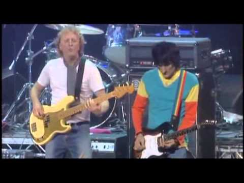 """Ronnie Lane Memorial Concert - The Jones Gang with Ronnie Wood """"Stay With Me"""""""