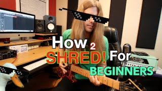 How To Shred F๐r Beginners Part 1 ( With TABS!!)