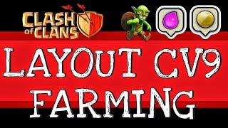 TOP 5 MELHORES LAYOUTS FARM PARA CV9 }}}Clash of Clans{{{