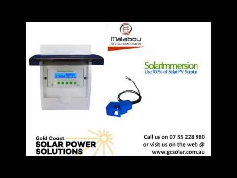 Maximise Solar Power Self Consumption with Solar Immersion