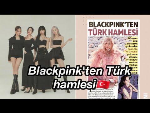 Blackpink'in Tercihi Yine Türk Tasarımları Oldu. Türk Dergilerine Yansıdı🇹🇷