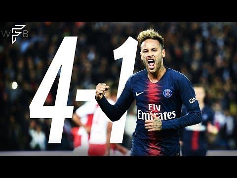 Neymar Jr Vs Reims - ALL HIGHLIGHTS! - (Home) 9/26/18   HD