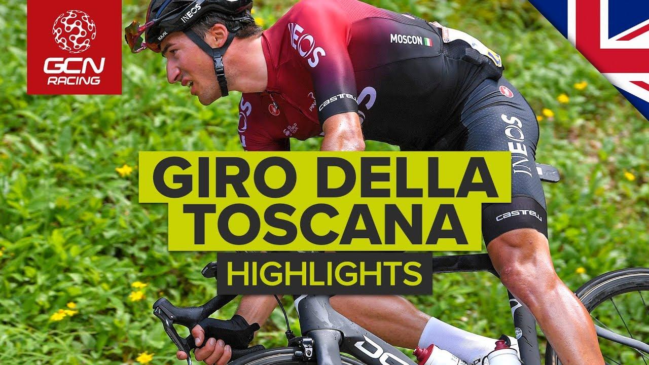 Giro della Toscana 2019 Highlights   Memorial Alfredo Martini   GCN Racing