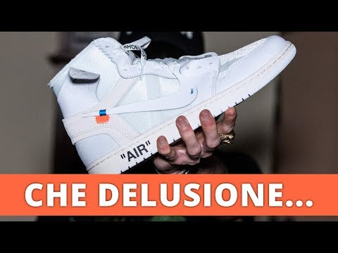 OFF-WHITE X JORDAN 1: CHE DELUSIONE... (SHOES REACTION)