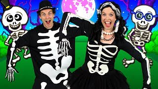 The Skeleton Dance - Kids Halloween Song | Halloween Songs for Children