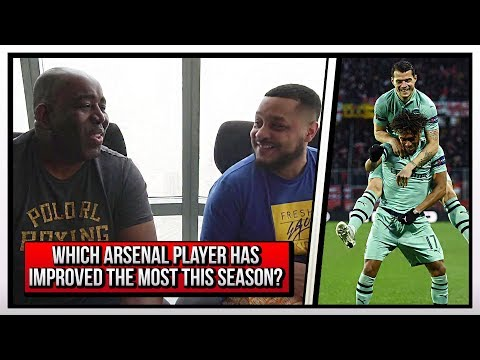 Which Arsenal Player Has Improved The Most This Season? Ft Troopz | AFTV In Dubai