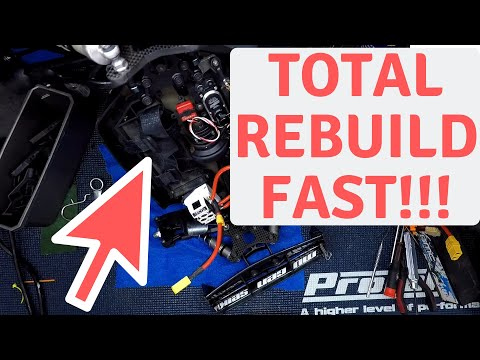Catch me if you can! How Fast do you Rebuild RC Cars?