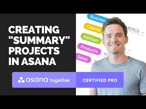 "Using Asana ""summary"" projects to view your most important tasks"