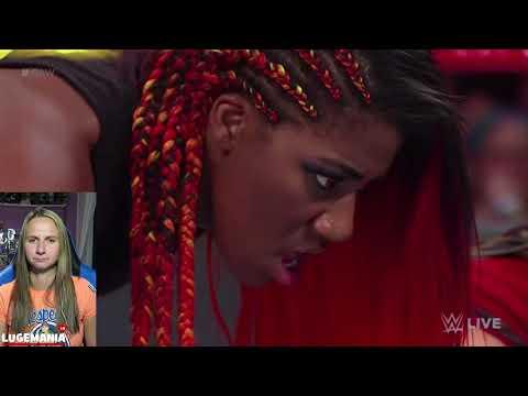 WWE Raw 7/16/18 Ember Moon vs Sarah Logan