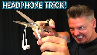 Headphone Magic Trick Prank!! **REVEALED!**