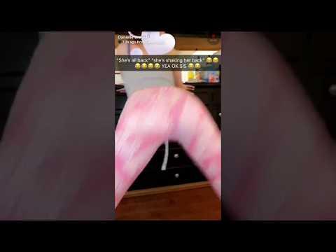 DANIELLE BREGOLI HOT TWERKING BIG ASS SNAPCHAT IN LEGGINGS 2018 thumbnail