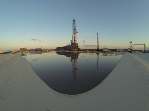 Практика в буровой компании Евразия. GoPro 3