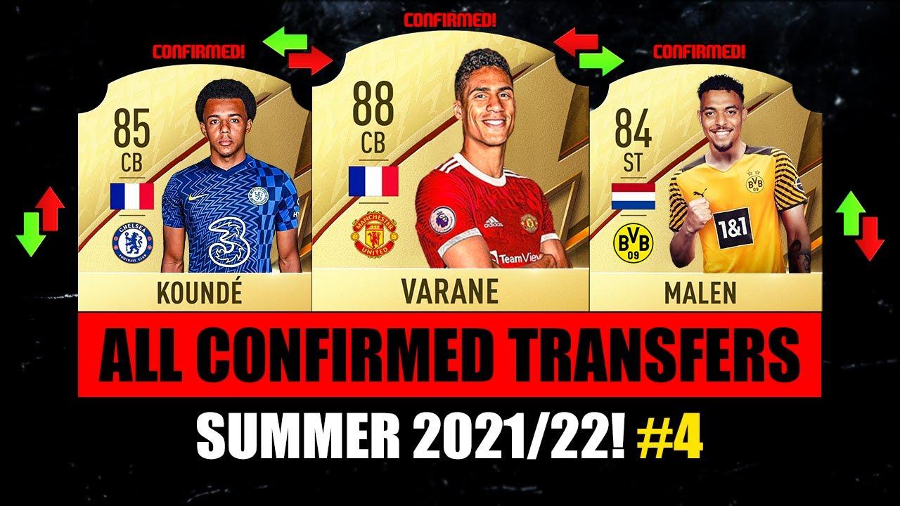 ALL NEW CONFIRMED TRANSFERS SUMMER 2021! ✅😱 ft. Kounde, Varane, Malen…