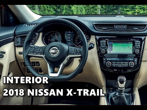 2018 nissan x trail interior tour youtube. Black Bedroom Furniture Sets. Home Design Ideas