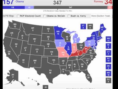 Election - 2012 Electoral College Analysis - YouTube